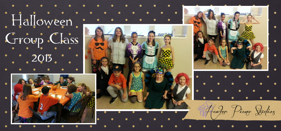 Halloween Group Class