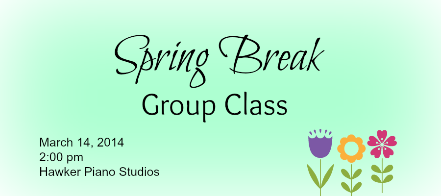 Spring Break Group Class